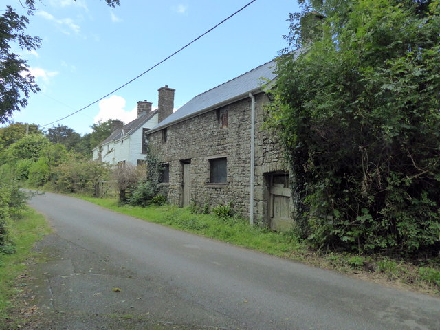 Derelict Building in Llawhaden
