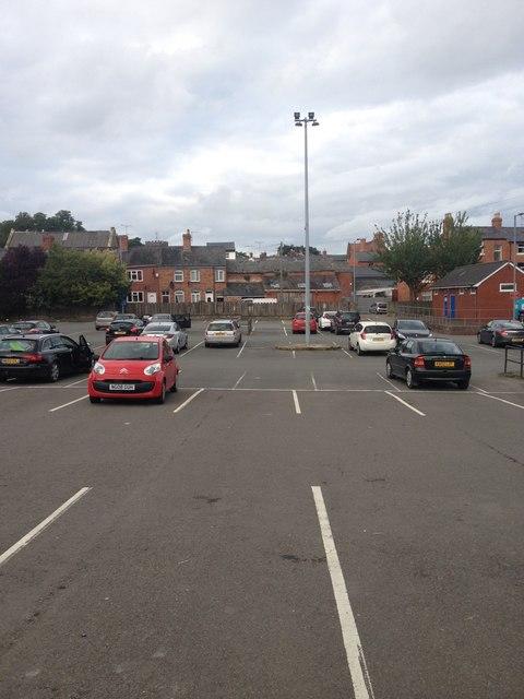Welshpool car park