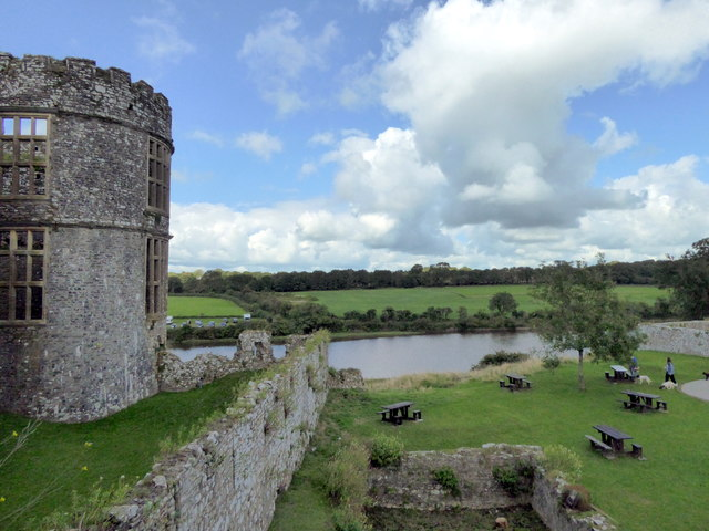 Carew River from the Castle