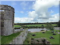 SN0403 : Carew River from the Castle by PAUL FARMER