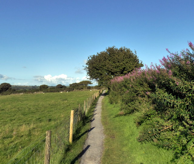 Footpath to Pentre Ifan