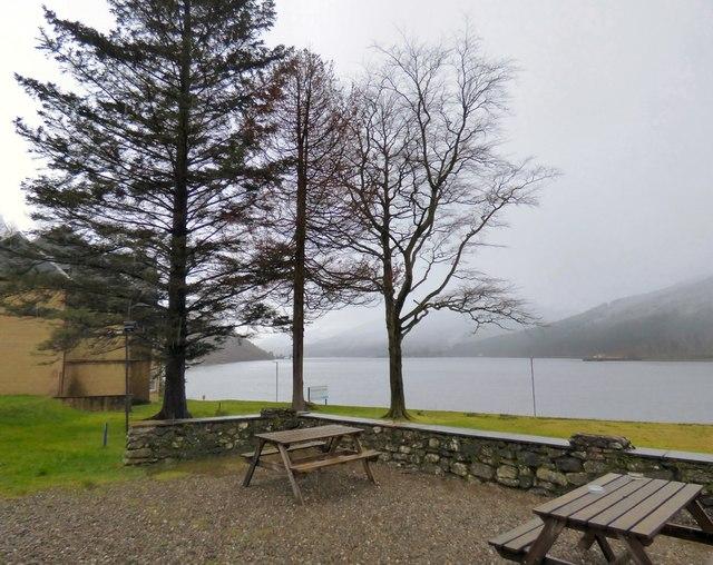 Looking down Loch Long