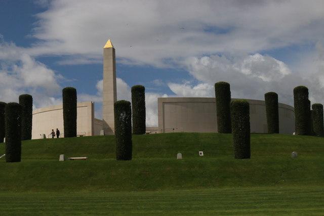 Clouds over the National Memorial Arboretum