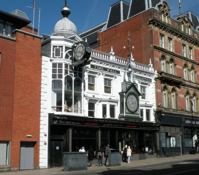 Time Ball Buildings, Briggate