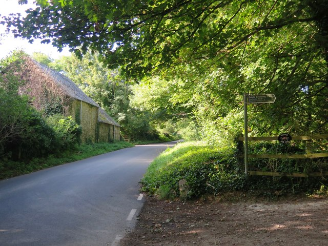 Lynch Lane, south of Calbourne