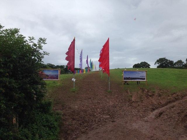 Field at Bulverton - Sidmouth Folkweek