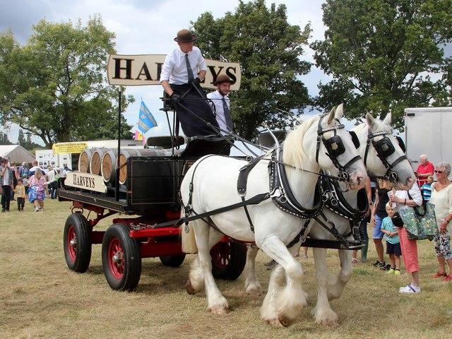 Harveys delivery cart, Tractorfest