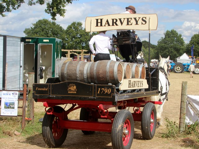 Harveys delivery cart, Tractorfest