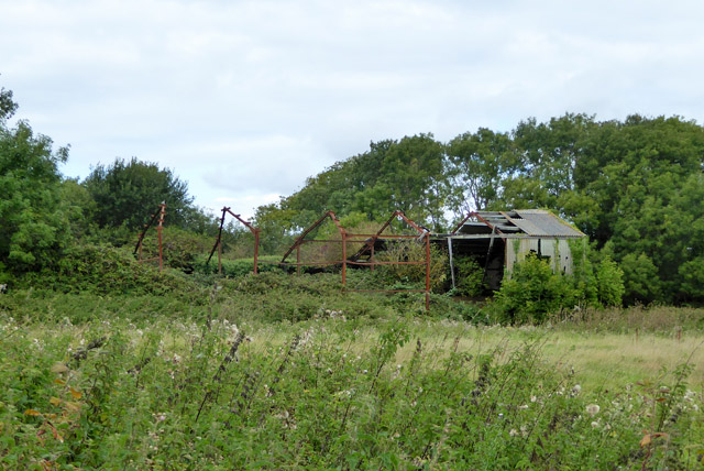 Derelict shed, Shanklin