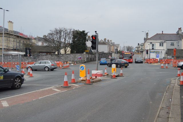Weston Park Rd, A386 junction
