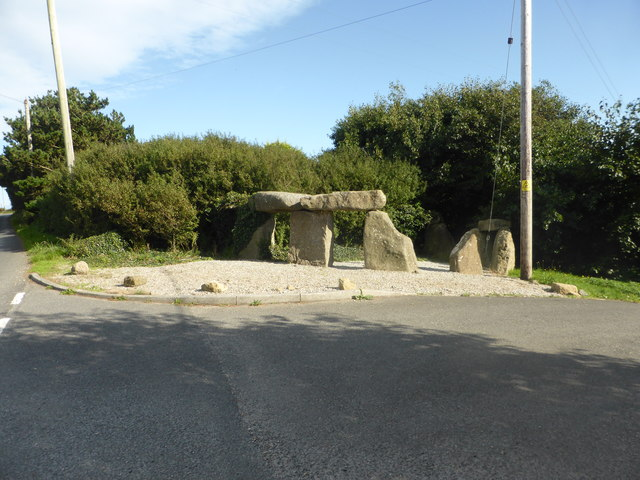 """""""Megalithic structure"""" at Treave"""
