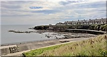 NZ3671 : Looking across Brown's Bay to Brown's Point, Whitley Bay by Chris Morgan