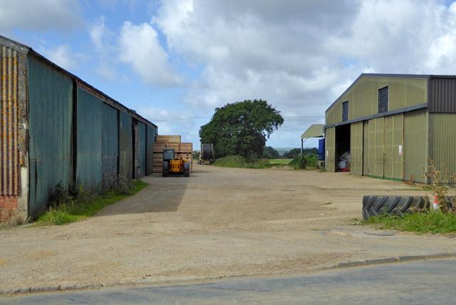 Farmyard, Princelett Farm