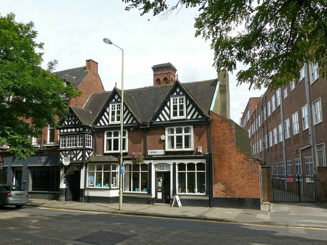 The Colonnade and Tudor House, Eastgate Street, Stafford