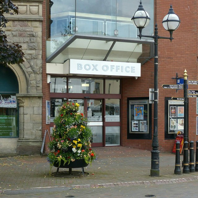 Gatehouse Theatre Box Office entrance