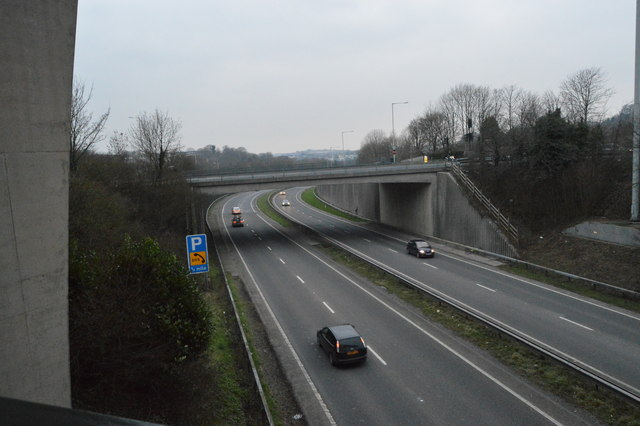 A38, Manadon Interchange