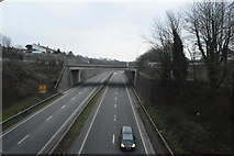 SX4857 : A38, Manadon Interchange by N Chadwick
