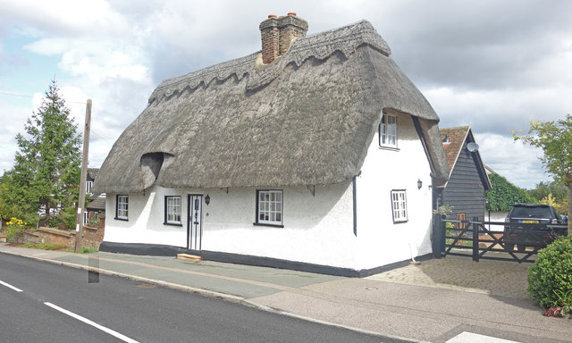 Thatched cottage, Abbotsley