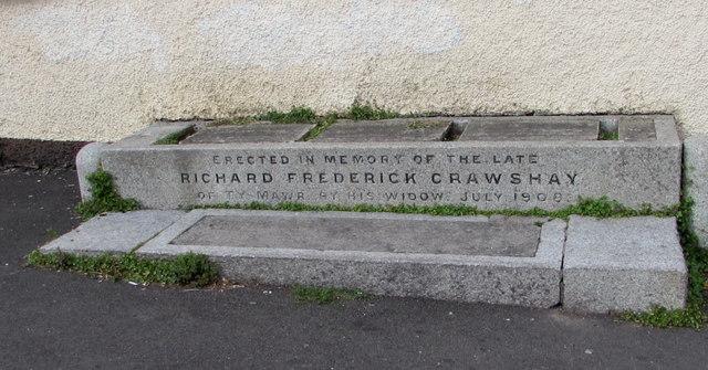 Crawshay Memorial in Gilwern