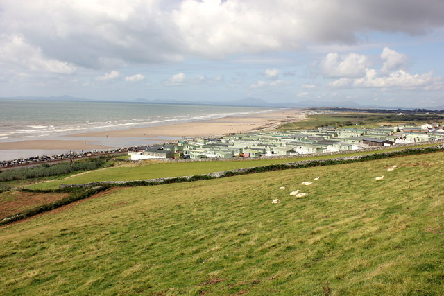 View from The Wales Coast Path