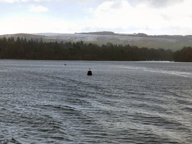 Loch Lomond navigation buoy