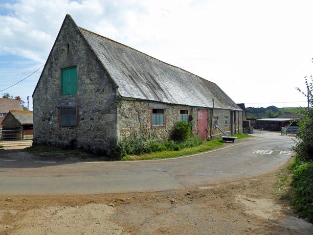 Barn, Alverstone Farm