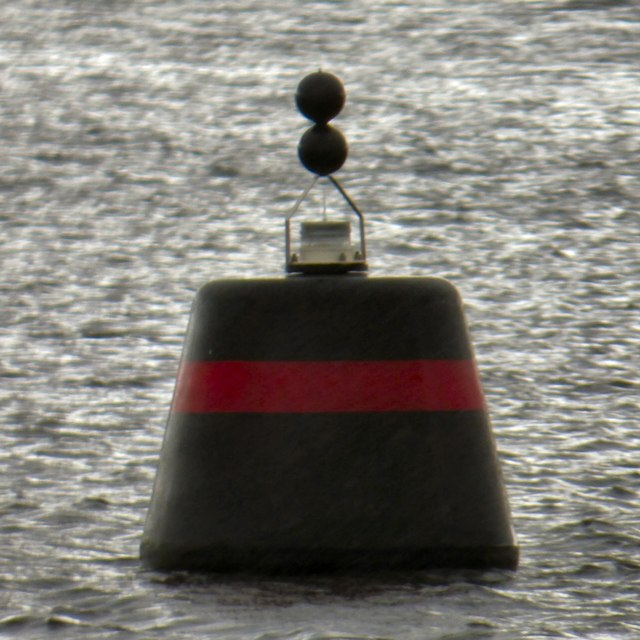 Navigation buoy on Loch Lomond