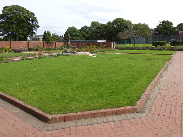 Bramley Park - flower garden