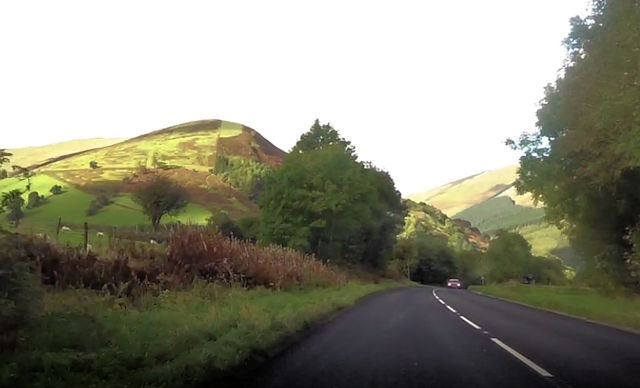 A470 passing Brynllys