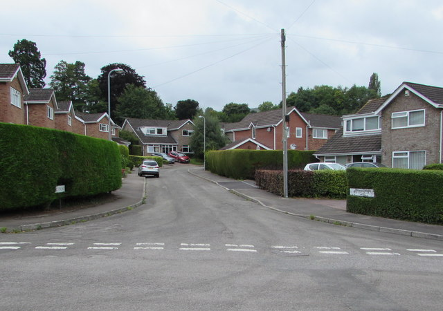 Junction of Winsford Grove and Malford Grove, Gilwern
