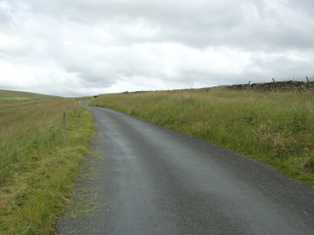 Unfenced road over Swarth Moor