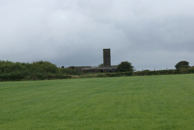Remains of RAF Hayscastle Cross