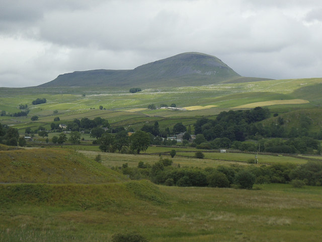 Pen-y-Ghent seen from Swarth Moor
