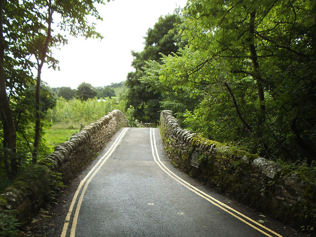 Stainforth Bridge - top view