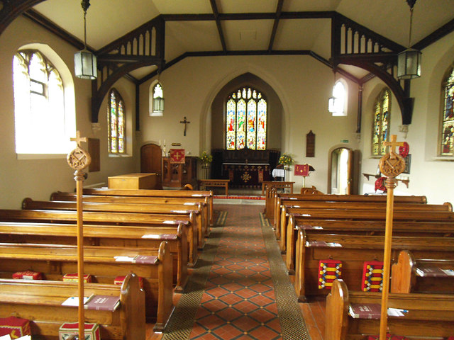 St Peter's Stainforth - interior, looking east