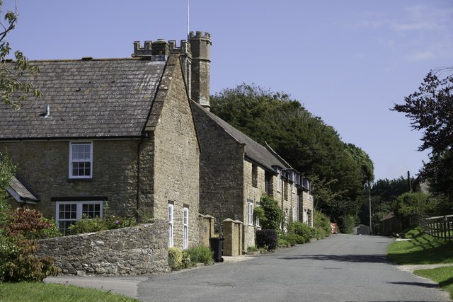 Askerswell village