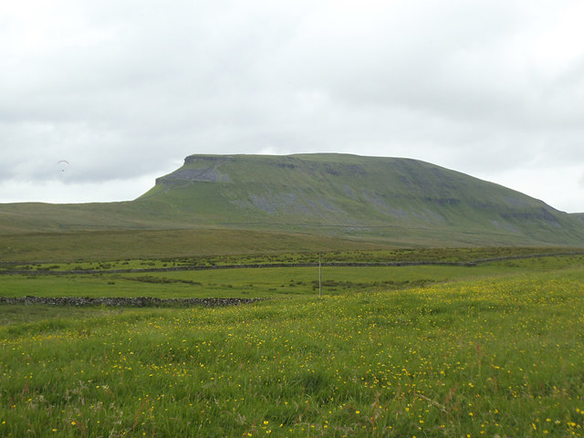 View of Pen-y-Ghent from Dale Head