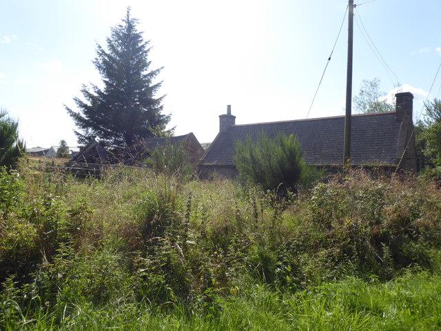 Muir of Coynach cottage (rear)