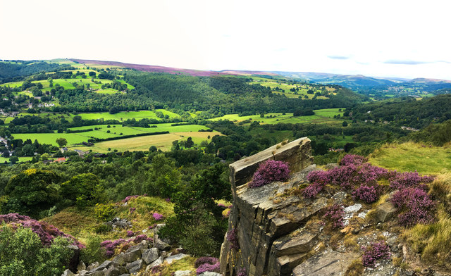 Looking over the Derwent Valley