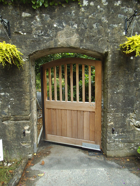 New gate to the walled garden