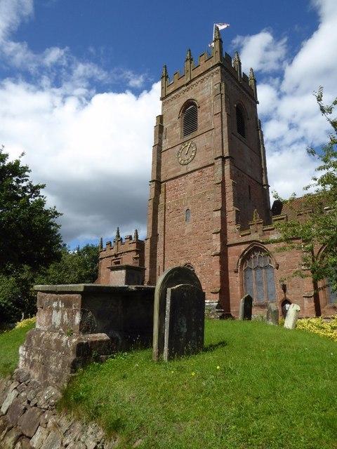 Claverley church