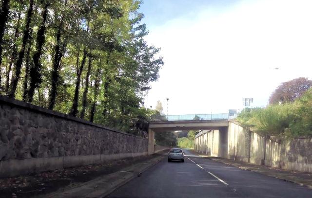Overbridge over Dolgellau bypass
