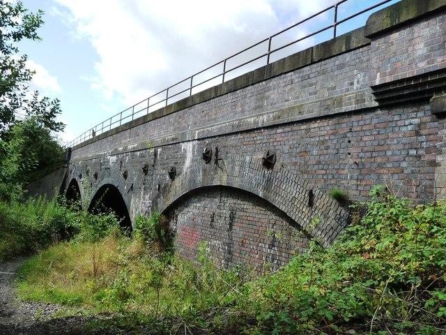 Railway bridge, south of Pye Bridge Junction