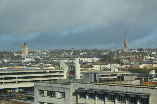 Roofscape, Plymouth