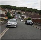 ST3090 : Graig Park Avenue towards Graig Wood, Newport by Jaggery