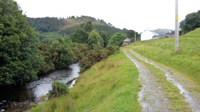 Newlands Beck and Little Braithwaite