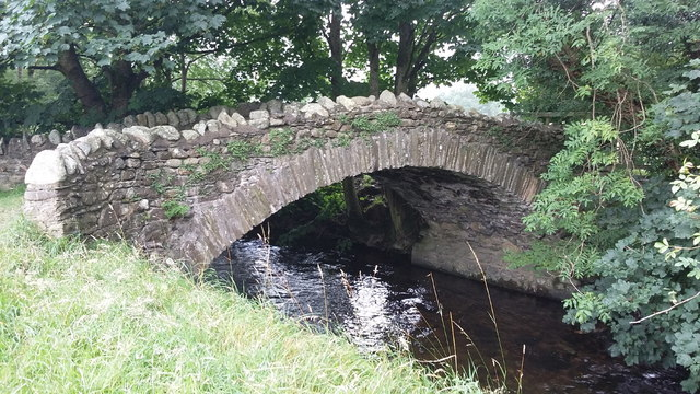 Bridge over Newlands Beck