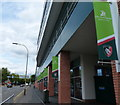 SK5803 : Robin Hood Stand at the Leicester Tigers rugby union stadium by Mat Fascione