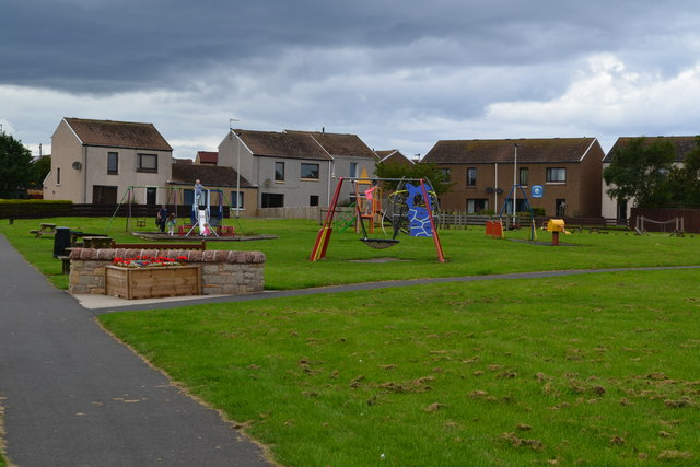 Play area at Eyemouth