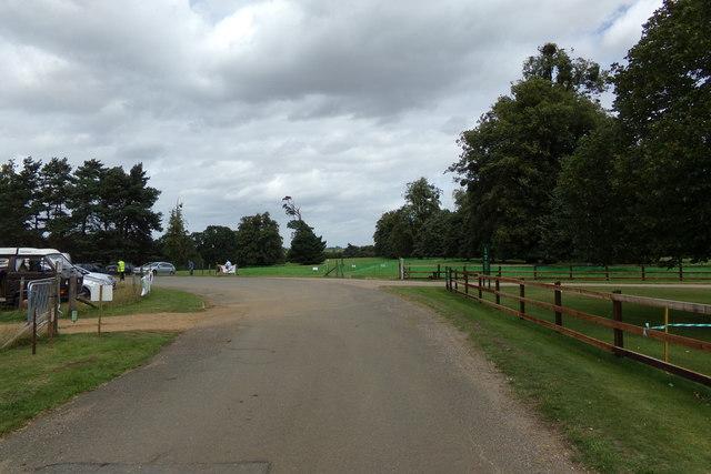 Haughley Park entrance
